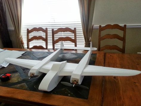 Swappable P38 w/Plans - Twin engine goodness