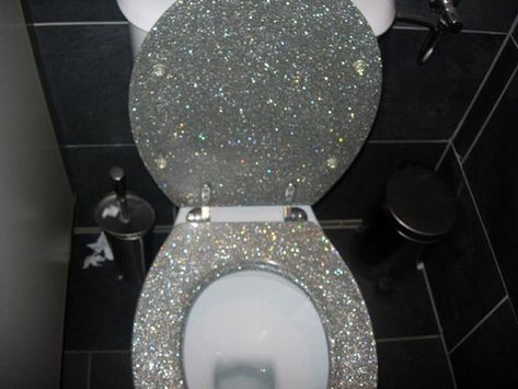 : The glitter shitter. The name alone made me laugh out loud.  .