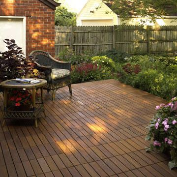 Modular Deck Tile Patterns With Images Patio Decks Backyard