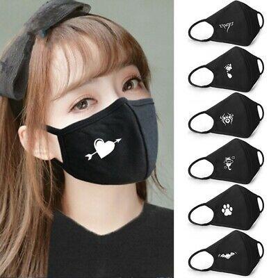 Emoji Cotton Mouth Face Mask Cover Respirator Cycling Anti Dust Anime Czxy Am3rs Fashion Clothing Em 2020 Modelo De Mascara Mascara Para Criancas Como Fazer Mascaras