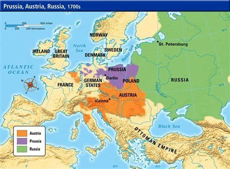 Image result for Western Europe Map 1700 | Prussia, Map ...