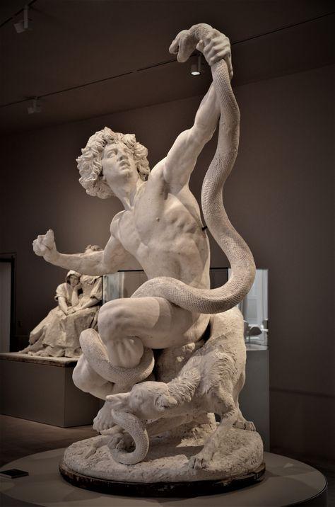 Sex Statue – the Stone Age or Man Fighting A Serpent L 'ge De Pierre Ou Roman Sculpture, Art Sculpture, Bronze Sculpture, Bernini Sculpture, Metal Sculptures, Abstract Sculpture, Ancient Greek Sculpture, Greek Statues, Angel Statues
