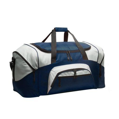 ad48d1d74d Traveler s Club 36-Inch Tri-Fold Collapsible Rolling Duffel Bag in Silver