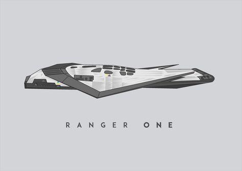 interstellar ranger spacecraft design - 474×335