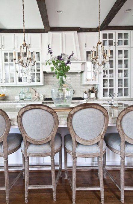 Farmhouse Kitchen Barstools Counter Stools 32 Ideas Trendy Farmhouse Kitchen Home Decor Kitchen Bar Stools