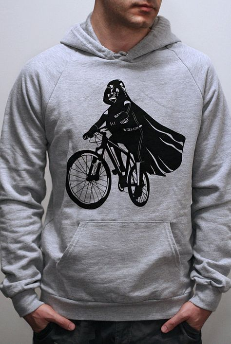 Darth Vader is Riding It Mens / Unisex Pullover by EngramClothing
