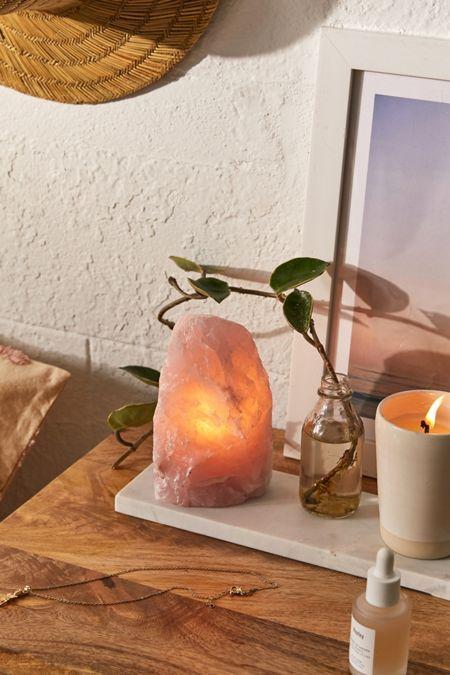 Galaxy Globe Table Lamp In 2020 Crystal Lamp Industrial Lamp Rose Quartz Crystal