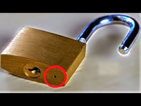 6 Ways To Open A Lock New Youtube Lock Picking Tools Homemade Tools Mens Birthday Gifts