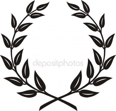 Resultado De Imagem Para Coroa De Louro Com Flores Desenho Coroa
