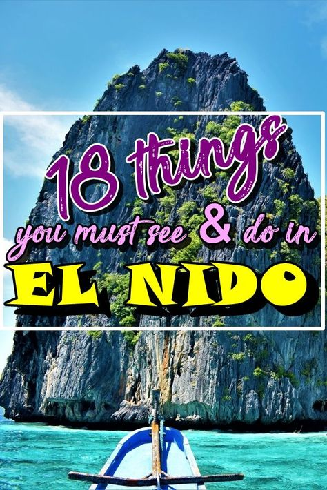 El Nido | Palawan | Philippines | El Nido islands | things to do in El Nido | what to see in El Nido | El Nido guide | El Nido Palawan |