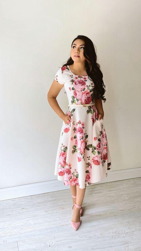 Modest Midi Dresses
