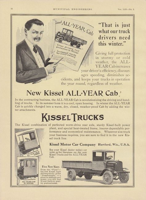 1917 Indiana Trucks  Refrigerator Tool Box Magnet