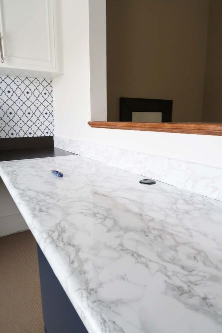 How To Install Marble Contact Paper Counters Contact Paper