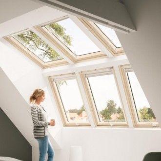 Velux Dachfenster Lichtlosung Panorama Kunststoff Energie Plus Weiss 3x2 Fenster Dachfenster Fenster Dachfenster Velux