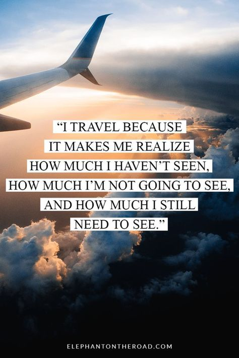 50 Travel Quotes That Will Awaken Your Adventurous Spirit. Quotes. Wanderlust. Reasons to Travel. Elephant on the Road