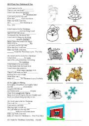 Bluebonkers All I Want For Christmas Free Printable Christmas Carol Lyrics Sheets Favorite Christmas Carols Lyrics Christmas Songs Lyrics Christmas Lyrics