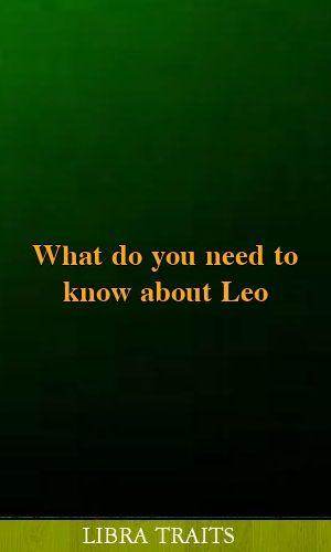 What do you need to know about Leo #horoscopes #leo #gemini