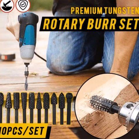 Shop Today>>65% OFF Premium Rotary Rasps Wood Set(10 pcs per set)