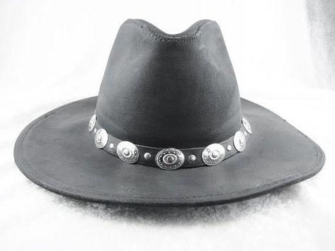 f1ee80e78ac34 Cowboy Hat Mens Felt Western Black Cowboy Hat With Brim Rancher ...