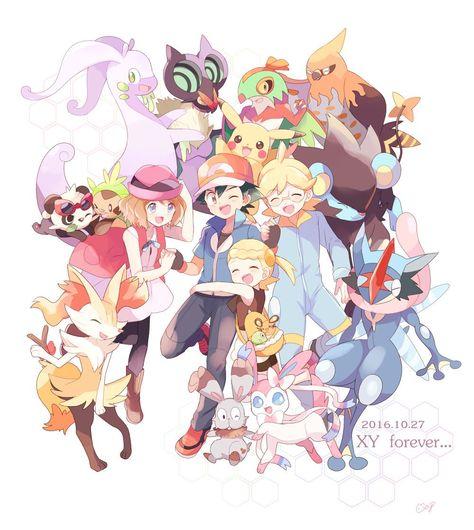 Pokemon Xy Personagens Pokemon Pokemon Imagens De Pokemon