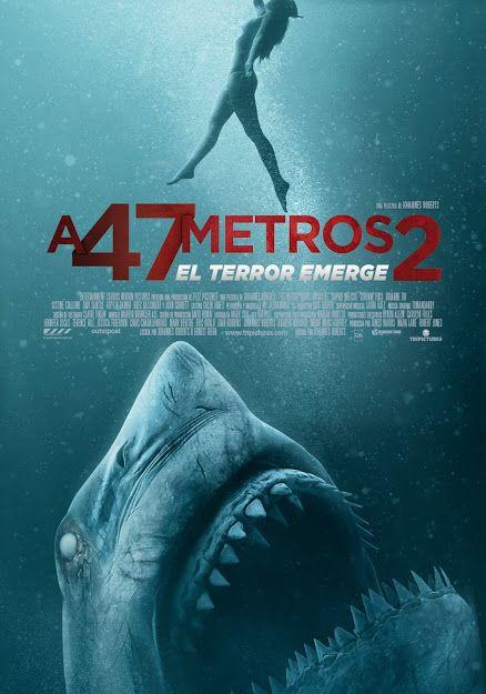 A 47 Metros 2 El Terror Emerge 2019 Esp Tt7329656 C Peliculas En Español Peliculas De Terror Peliculas De Tiburones