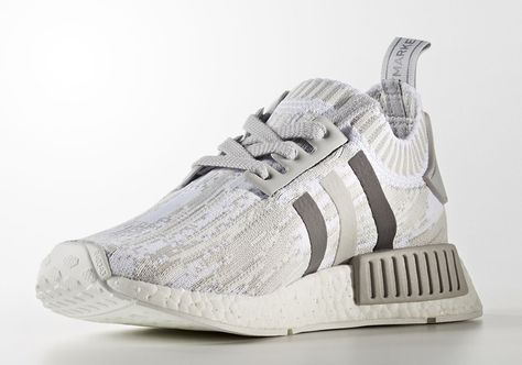 """huge discount fad6f 7f988 Previews of three new colorways for the adidas NMD R1 have already rolled  in today, and now we get a first look at a fourth. Again in a """"Glitch Camo""""  motif ..."""