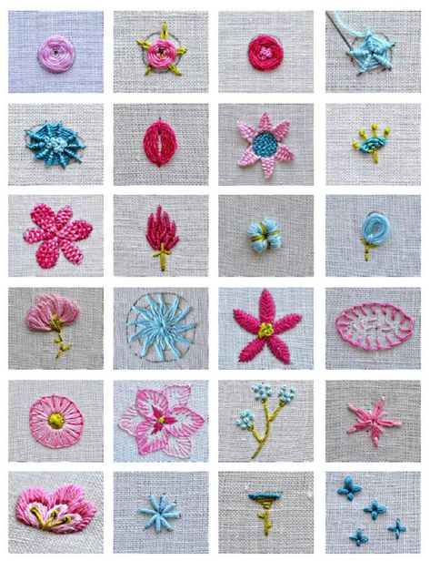 Flower embroidery tutorial stitch book, botanical embroidery, modern flower wreath embroidery pattern, learn embroidery, beginner embroidery learn how to embroider 24 flowers Hardanger Embroidery, Learn Embroidery, Silk Ribbon Embroidery, Embroidery For Beginners, Paper Embroidery, Embroidery Stitches Tutorial, Hand Embroidery Patterns, Embroidery Techniques, Embroidery Kits