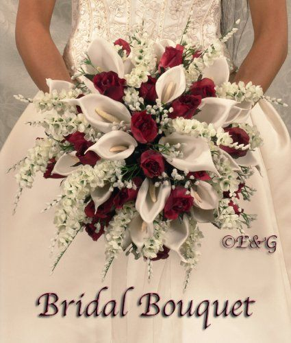 Beautiful Anna Belle Burgundy Wedding Bouquets Bouquet Bridal Flowers Love Silk Anna Beautiful Belle Bou Blumenstrauss Hochzeit 20 Jahre Hochzeit Hochzeit