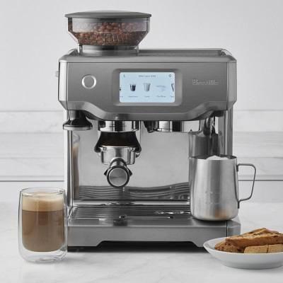 Breville Barista Touch Espresso Maker Williamssonoma Coffee Espresso Machine Best Espresso Machine Espresso Machine Reviews
