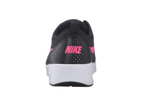 53a44d4a03da Nike Kids Air Max Thea (Big Kid) Girls Shoes Black White Hyper Pink ...