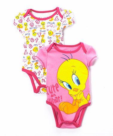 Tweety Pie Ladies Lounge Pants Tres Chick Shades of Pink