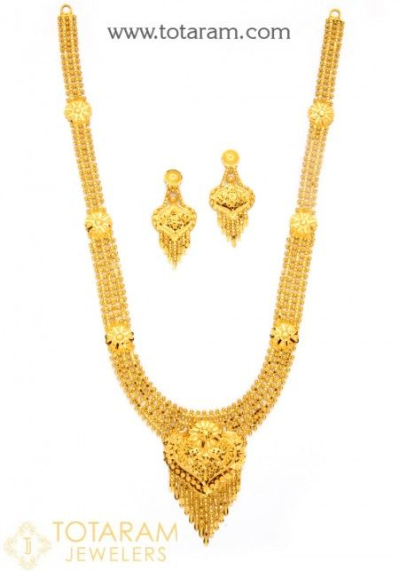 8f6ae1e9949a5 22K Gold Necklace Sets | Jewelry | Gold necklace