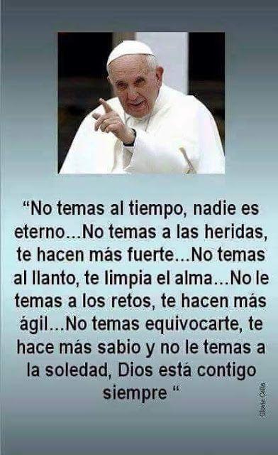 Frases Bonitas Para Facebook: Reflexion Papa Francisco
