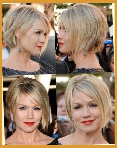 Jennie Garth Short Hairstyles On Messy Short Hair Short Rainbow Hair Hair Styles