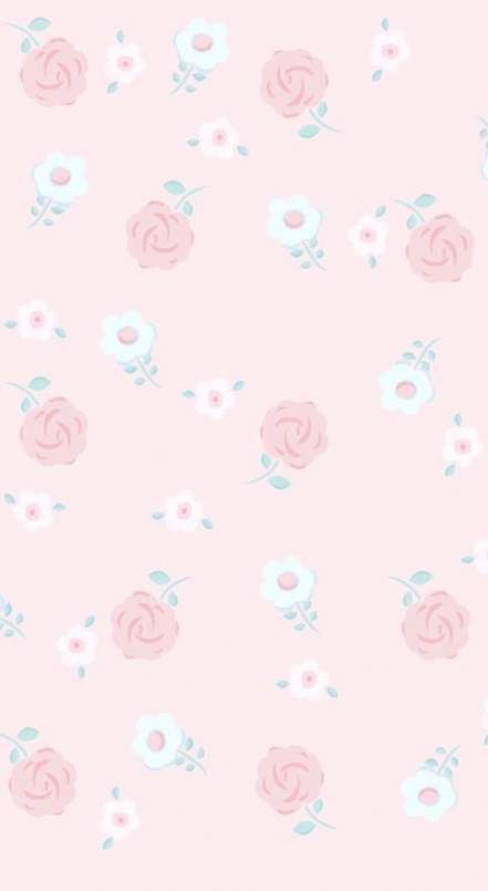 51 Ideas Wall Paper Flores Iphone Roses Wall In 2020 Floral