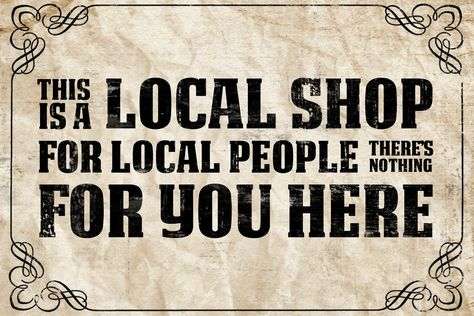 The League of Gentlemen: This Is A Local Shop by Rosterlu.deviantart.com on @deviantART