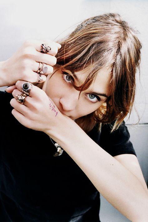 Rock 'n' Roll Style ☆ Alexa Chung's Evil Eye Ring