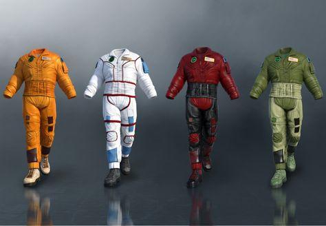 Flight Suit Outfit Textures - DAZ 3D Models - 3D CG