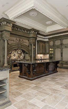 Custom Kitchen Cabinets Ornate Kitchen Kitchen Inspiration