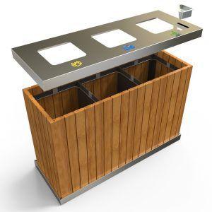 Liberty Poubelle Pour La Collecte Des Dechets Municipaux Non Tries 100l Furniture Street Furniture Cheap Patio Furniture