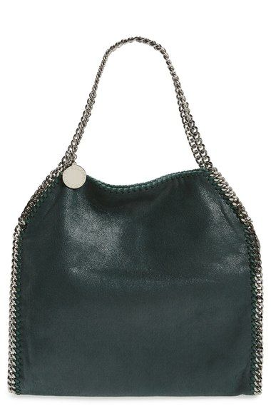 STELLA MCCARTNEY  Small Falabella - Shaggy Deer  Faux Leather Tote.   stellamccartney  bags  leather  hand bags  polyester  tote  lining   44d9ba14743fb