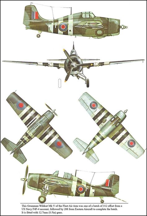 Grumman Wildcat Mk V | Aircraft of World War II - WW2Aircraft.net Forums