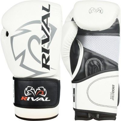 Rival Boxing RB2 2.0 Super Hook and Loop Bag Gloves White