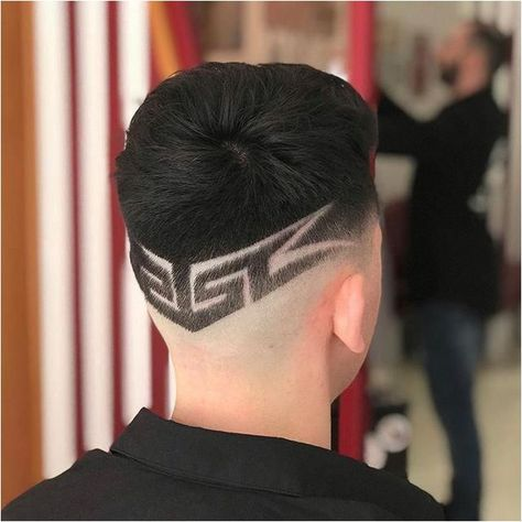 Tatts muscles and beard  #MensLongHairstyles Click for further information