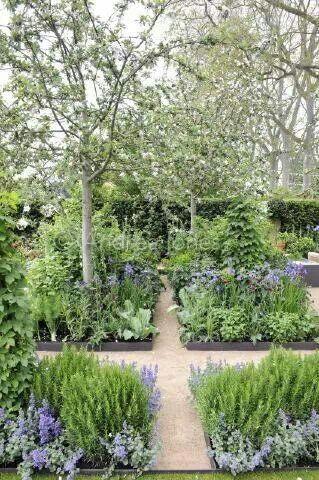 Love This Herb Garden Herb Garden Design Dream Garden Garden