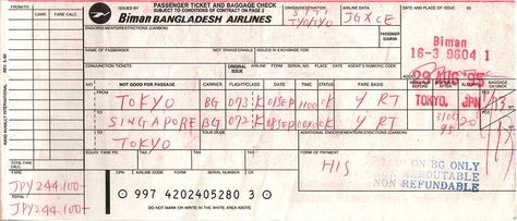 coupon for airline tickets