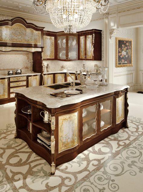 Classic Italian Luxury Kitchen Furniture. Andrea Fanfani Italy. | LUXURY //  KITCHEN | Pinterest | Luxury kitchens, Luxury and Kitchens