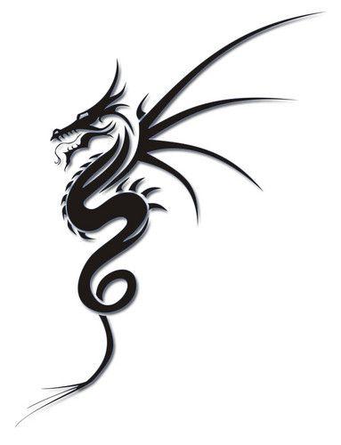 Dragon Tattoos | Tribal Dragon Tattoo