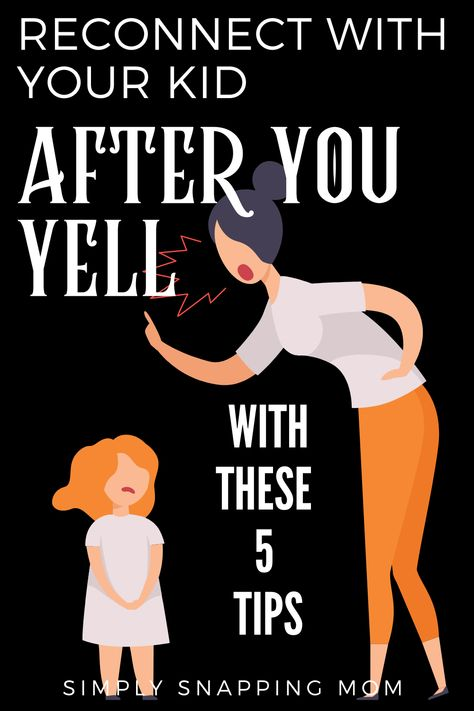 After you yell at your kids, do this