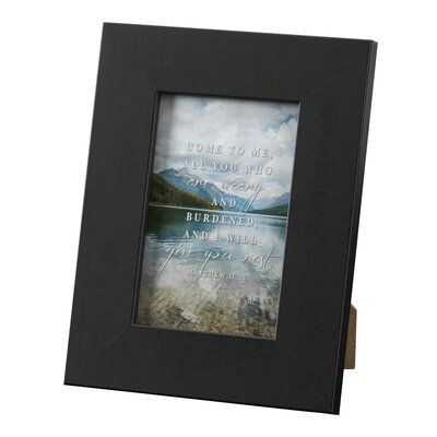 Winston Porter Mickel Come To Me Matt 11 28 Poly Tabletop Picture Frame In 2020 Frame Wood Picture Frames Picture Frame Sets